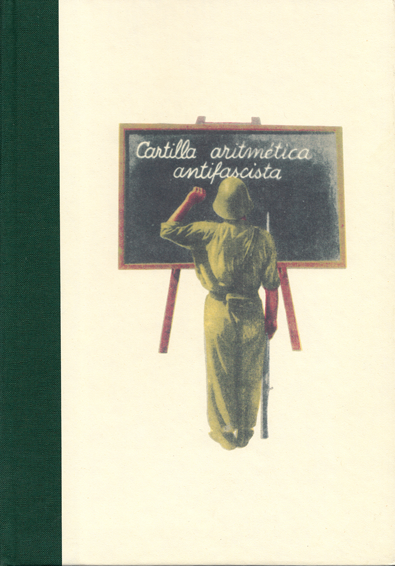 CARTILLA ARITMÉTICA ANTIFASCISTA: portada