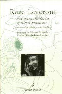 CASA DESIERTA Y OTROS POEMAS,LA: portada