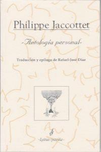 ANTOLOGIA PERSONAL: portada