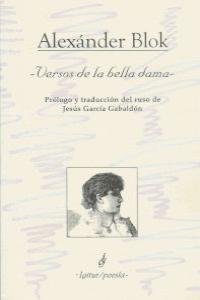 VERSOS DE LA BELLA DAMA: portada