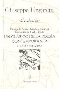 ALEGRIA,LA 3ªED: portada