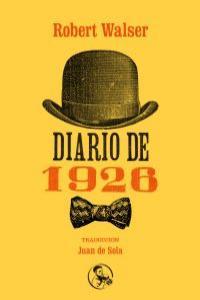Diario de 1926: portada