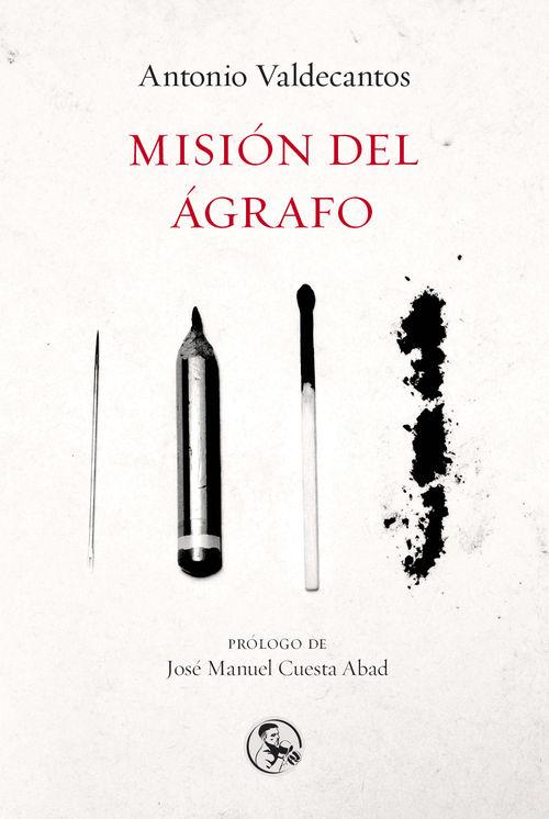 Misión del ágrafo: portada
