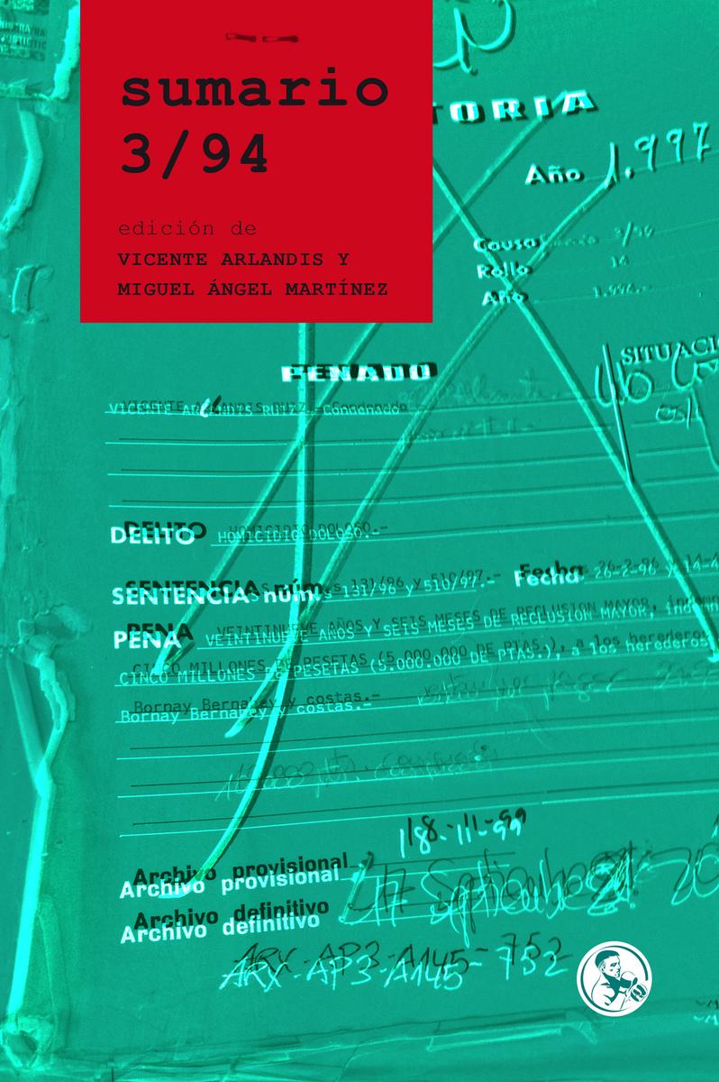 Sumario 3/94: portada