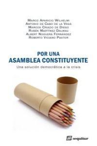 Por una asamblea constituyente: portada