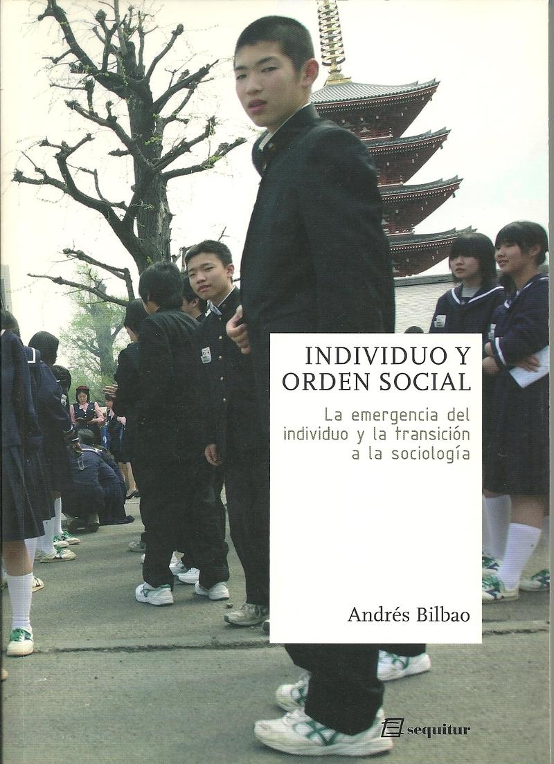 INDIVIDUO Y ORDEN SOCIAL: portada
