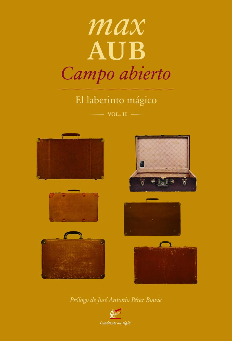 Campo abierto: portada