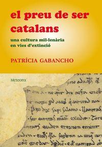 Preu de ser catalans, El: portada