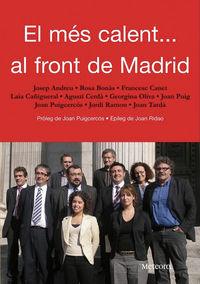 M�s calent... al front de Madrid, el: portada