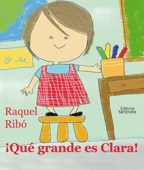 ¡Qué grande es Clara!: portada