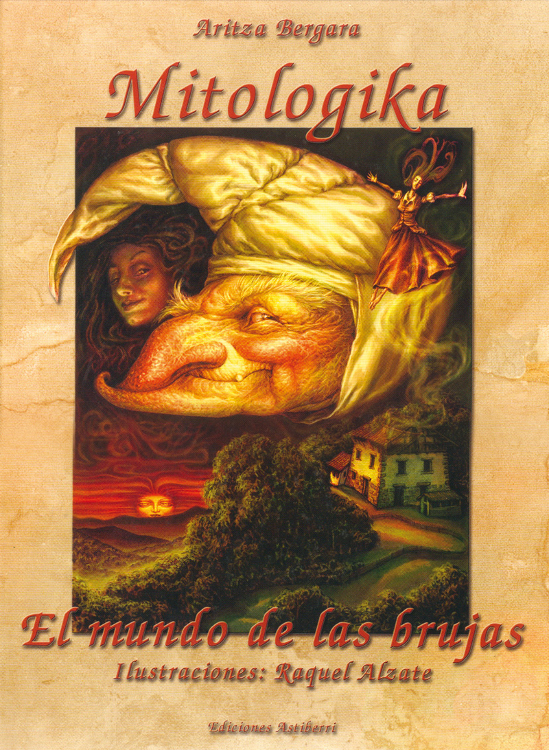 MITOLOGIKA. EL MUNDO DE LAS BRUJAS: portada