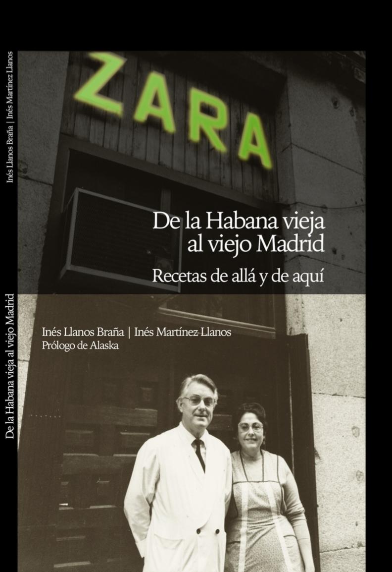 ZARA. DE LA HABANA VIEJA AL VIEJO MADRID: portada