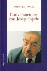 CONVERSACIONES CON JOSEP ESPRIU: portada