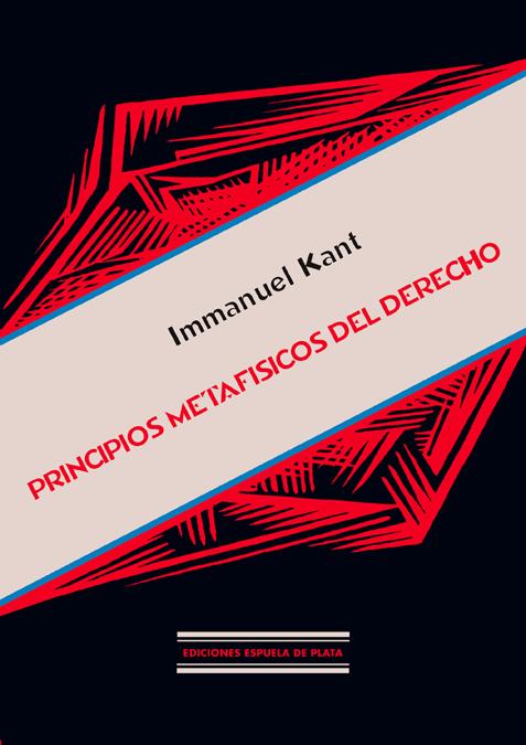 PRINCIPIOS METAFISICOS DEL DERE: portada