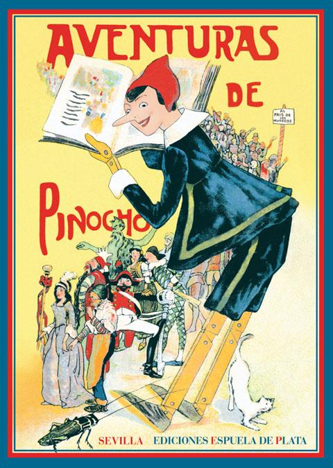 Aventuras de Pinocho: portada
