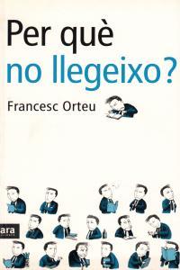 PER QUE NO LLEGEIXO - CAT: portada