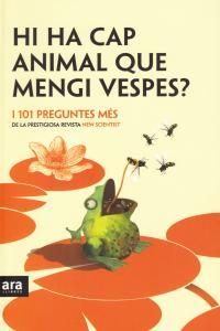 HI HA CAP ANIMAL QUE MENGI VESPES - CAT: portada