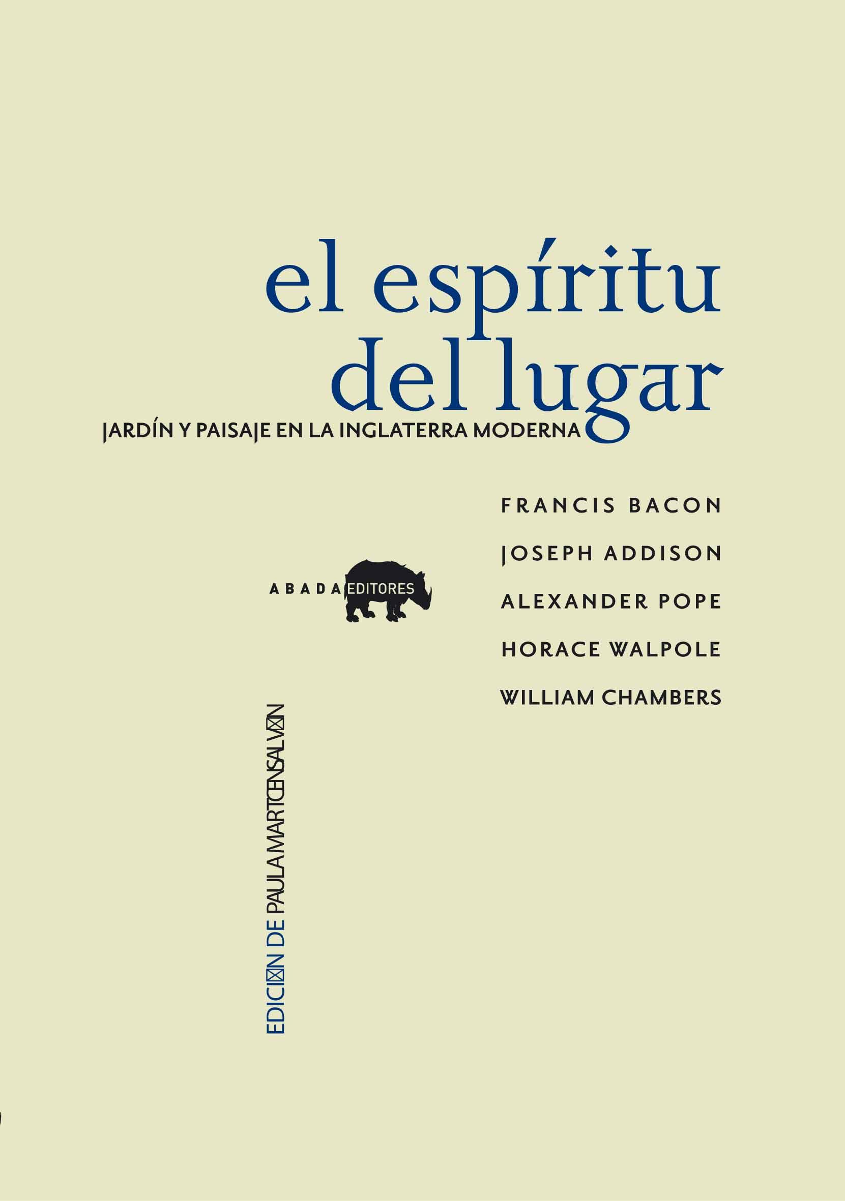 ESPIRITU DEL LUGAR,EL: portada