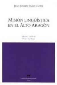 Misión lingüística en el Alto Aragón: portada