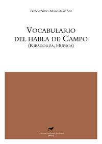 VOCABULARIO DEL HABLA DE CAMPO (RIBAGORZA, HUESCA): portada