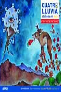 CUATRO LLUVIA Y LA FIESTA DEL MAÍZ (CHATINO-ESPAñOL): portada
