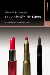La confesión de Lúcio: portada