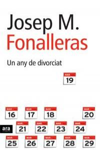 UN ANY DE DIVORCIAT - CAT: portada