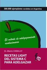 RECETAS LIGHT DEL SISTEMA C PARA ADELGAZAR: portada