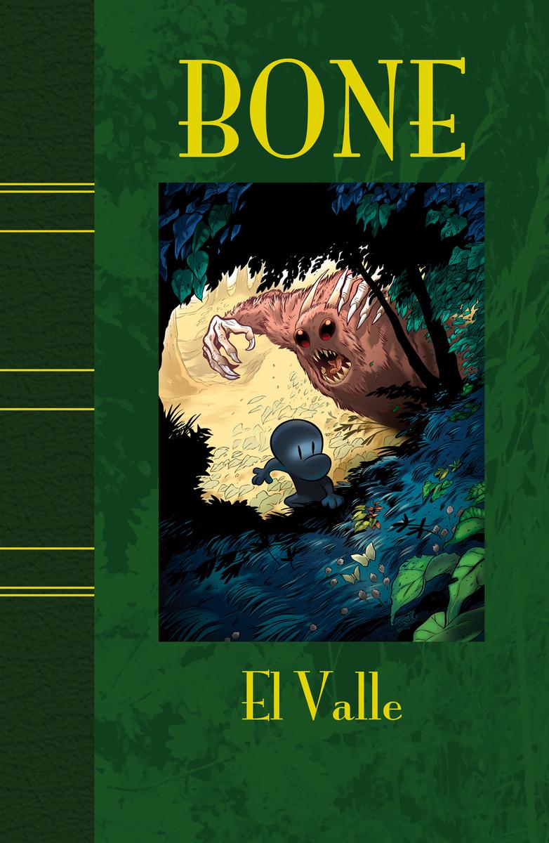 BONE 1 EL VALLE - ED. LUJO: portada