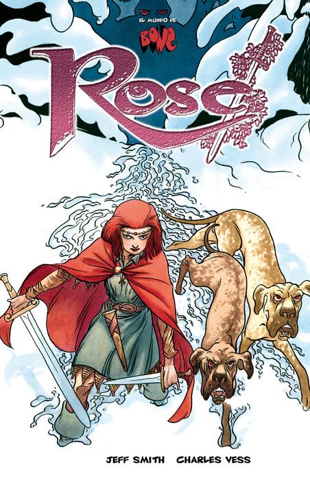 BONE: ROSE: portada