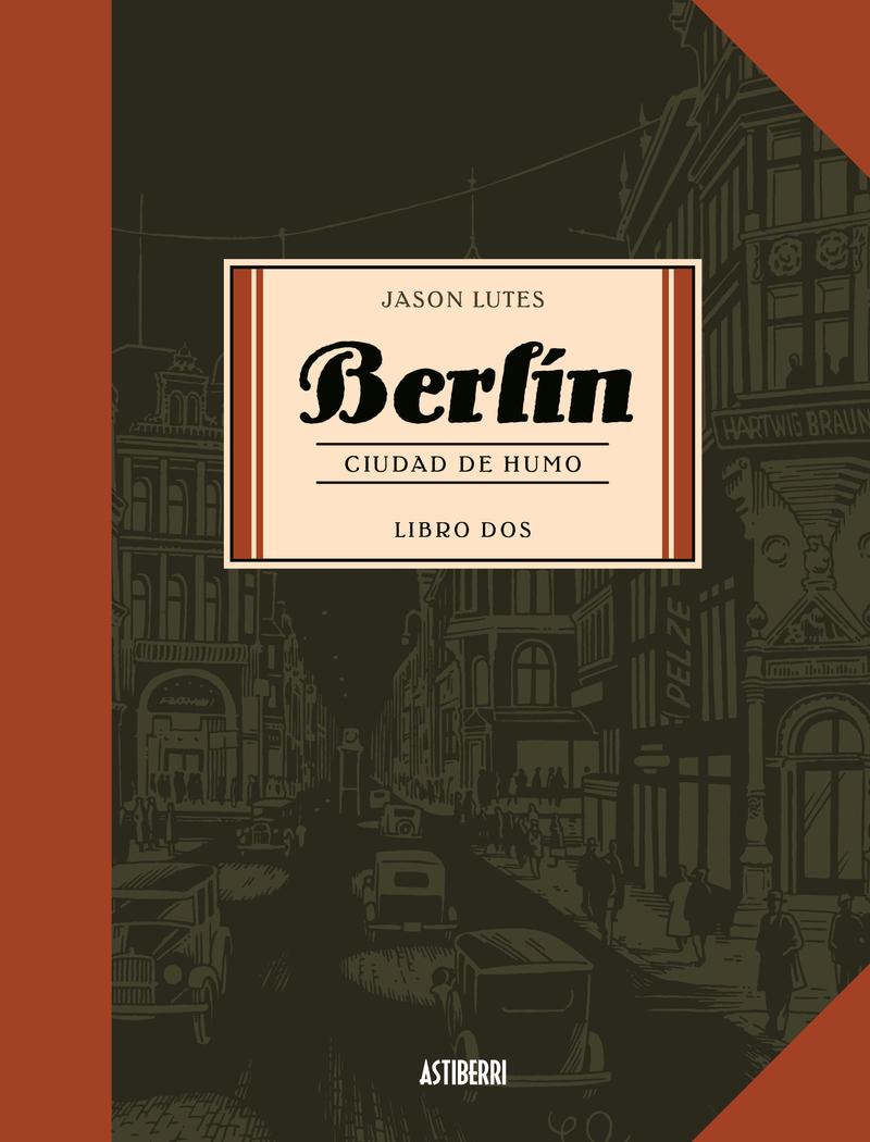 BERLIN 2. CIUDAD DE HUMO 3.ª ED.: portada