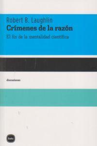 CRIMENES DE LA RAZON: portada