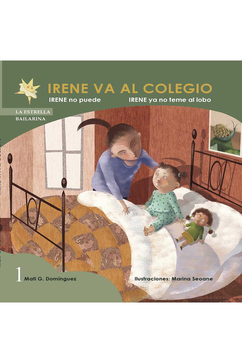 IRENE VA AL COLEGIO: portada