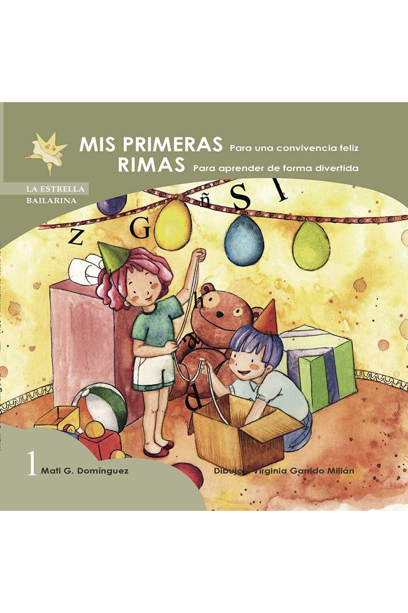 MIS PRIMERAS RIMAS 1: portada