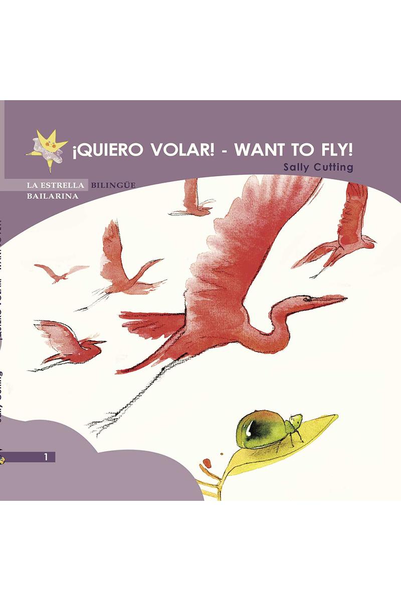 QUIERO VOLAR - WANT TO FLY: portada