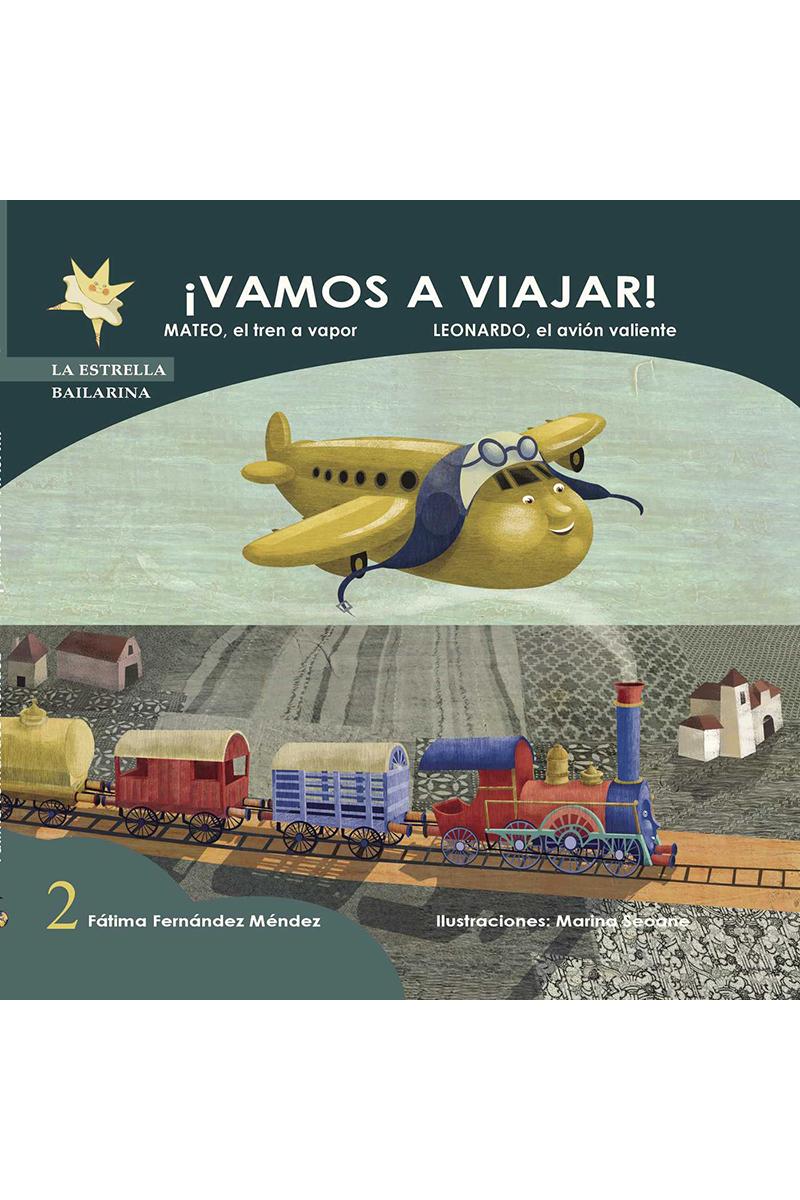 VAMOS A VIAJAR 2: portada