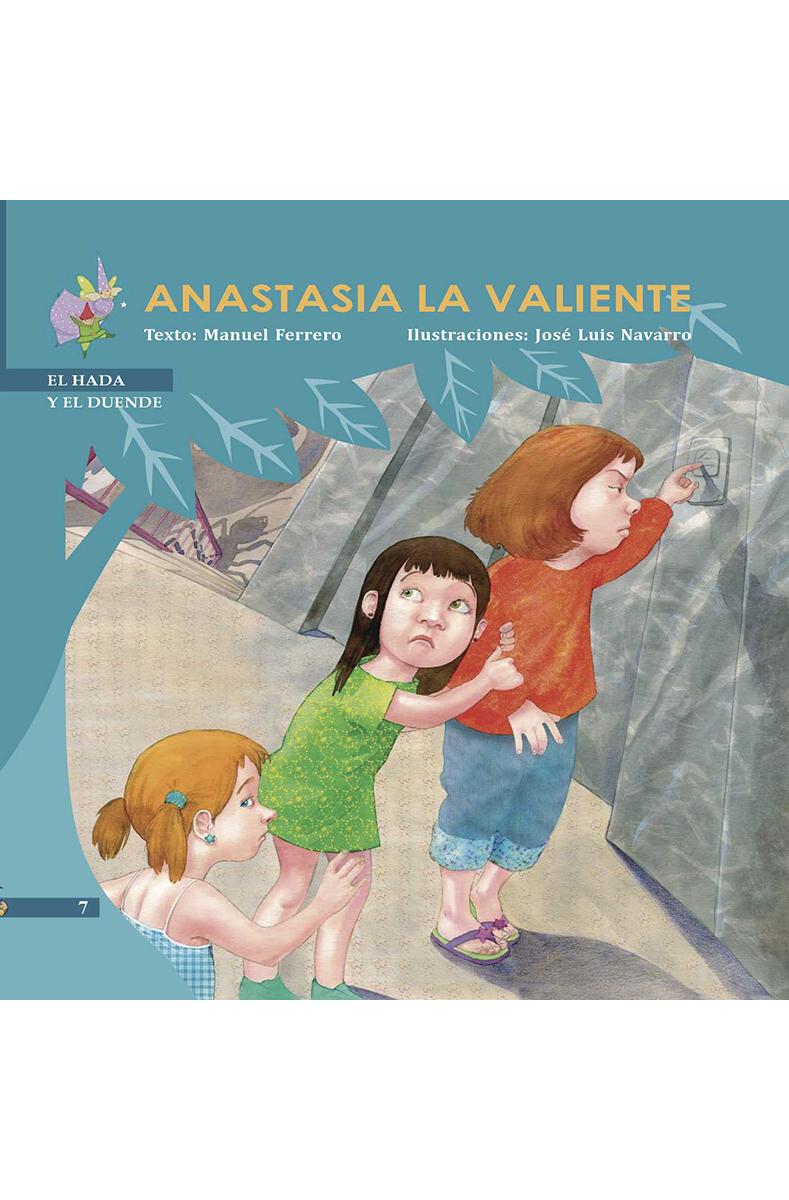 ANASTASIA LA VALIENTE: portada