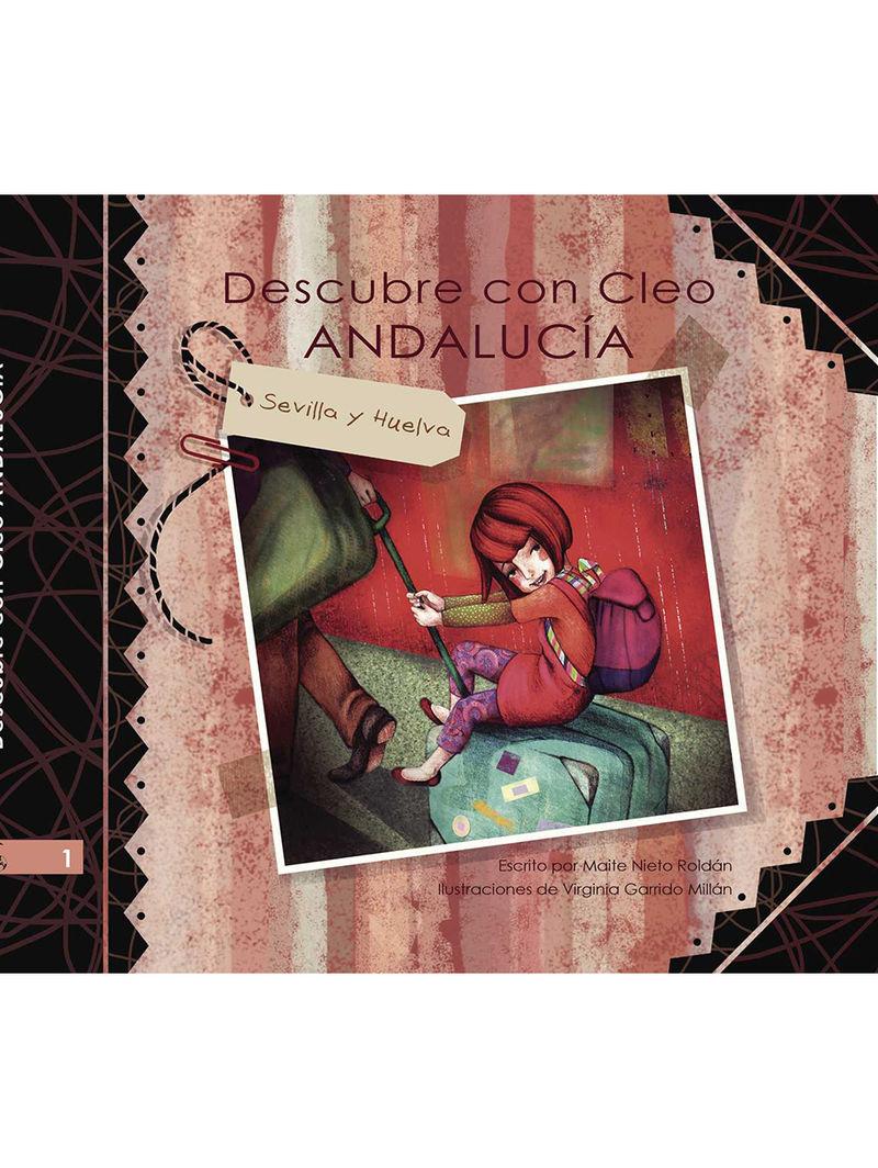 DESCUBRE CON CLEO ANDALUCIA 1: portada