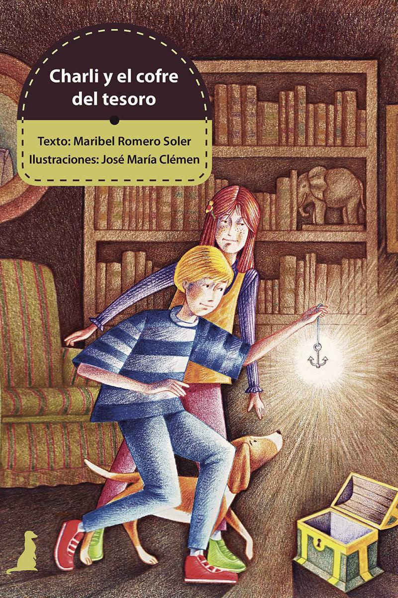 CHARLI Y EL COFRE DEL TESORO: portada