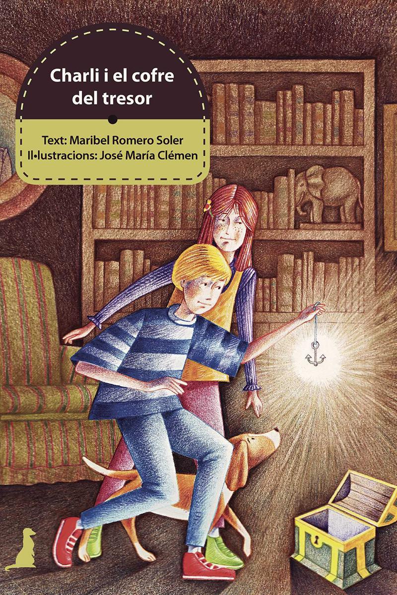 CHARLI I EL COFRE DEL TRESOR - CAT: portada
