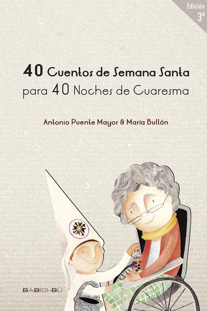 40 Cuentos de Semana Santa para 40 noches de Cuaresma: portada