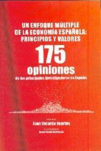 Un Enfoque Múltiple de la Economía Española. Principios y Va: portada