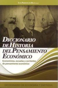 DICCIONARIO DE HISTORIA DEL PENSAMIENTO ECONOMICO: portada