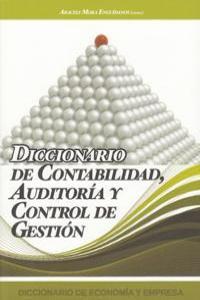 DICCIONARIO DE CONTABILIDAD AUDITORIA Y CONTROL DE GESTION: portada