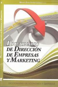DICCIONARIO DE DIRECCION DE EMPRESAS Y MARKETING: portada