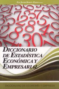 DICCIONARIO DE ESTADISTICA ECONOMICA Y EMPRESARIAL: portada