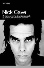 NICK CAVE CONFESIONES INTIMAS: portada