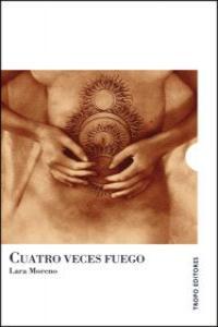 CUATRO VECES FUEGO: portada