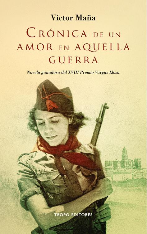 CR�NICA DE UN AMOR EN AQUELLA GUERRA: portada