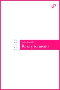 Rosa y tormenta: portada